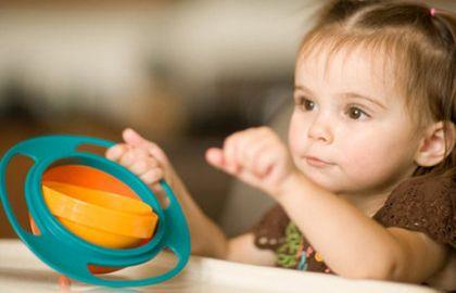 Детска купа за хранене която не се обръща