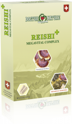 Витални гъби Reishi + Megavital Complex
