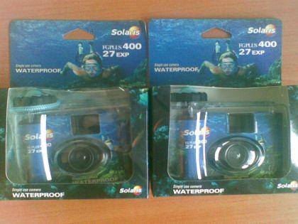 Фотоапарат за подводни снимки еднократен 25лв