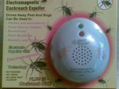 Електромагнитно устройство против хлебарки, мухи и насекоми